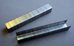 8 mm Feindraht Tacker Klammern, 1000 Stück, Stärke 0,7 mm