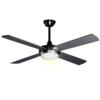 S-LUCE Blower Ventilator mit Beleuchtung E14, Silber s�luce 822260