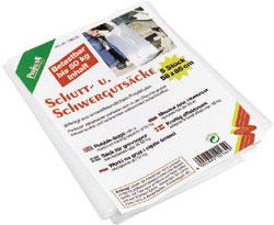 10 Stück Schutt- und Schwergutsäcke, Mülllsäcke bis 50 kg belastbar