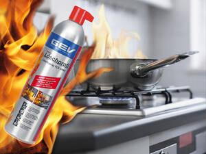 Westfalia-Das Spezialversandhaus A-B-C-F L�schspray 600 ml Dose f�r Entstehungsbr�nde Haus, Auto usw. GEV