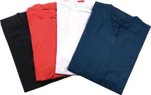 Westfalia-Das Spezialversandhaus T - Shirts aus reiner Baumwolle, mit V - Ausschnitt, Farbe rot, in verschiedenen Gr��en
