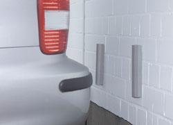 garagenstopper mit schoner schutz gegen besch digunge ebay. Black Bedroom Furniture Sets. Home Design Ideas