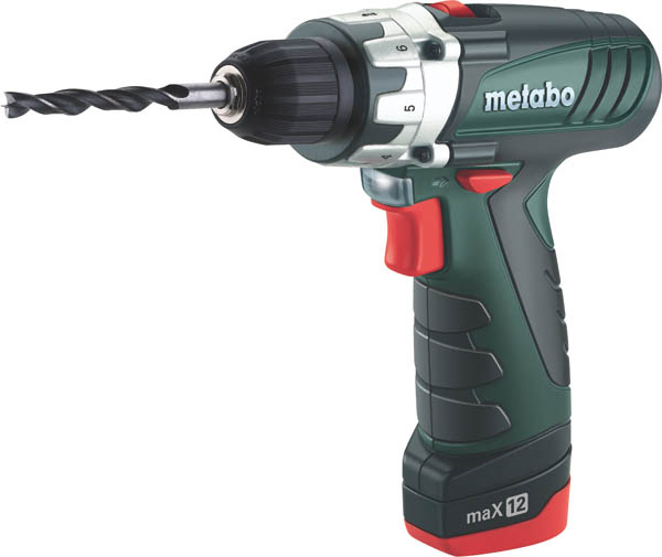 metabo power maxx 12 li ionen akkuschrauber 10 8 v ebay. Black Bedroom Furniture Sets. Home Design Ideas